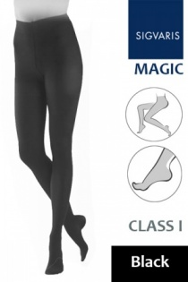 Sigvaris Magic Class 1 Black Compression Tights