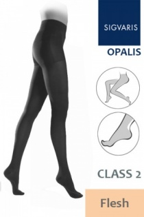 Sigvaris Opalis Class 2 Flesh Compression Tights