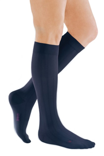 Blue Compression Socks