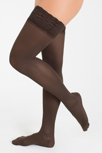 Brown Compression Stockings
