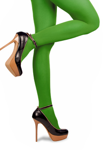 Green Compression Stockings