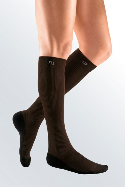 Medi Mediven Active Class 2 Brown Below Knee Compression Socks for Men