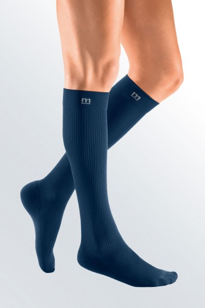 Medi Mediven Active Class 2 Navy Below Knee Compression Socks for Men