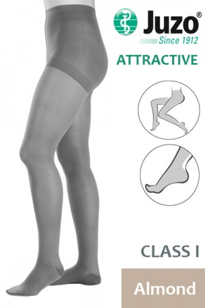 Juzo Attractive Class 1 Almond Compression Tights