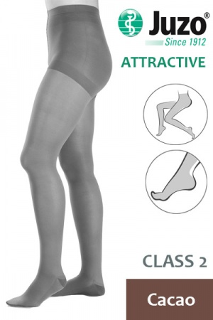 Juzo Attractive Class 2 Cacao Compression Tights