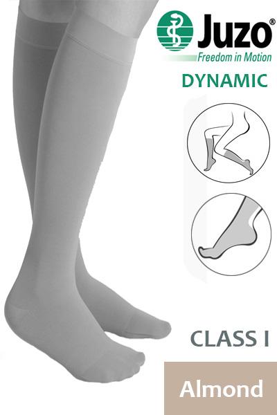 07d55e10a4 Juzo Dynamic Class 1 Almond Knee High Compression Stockings ...