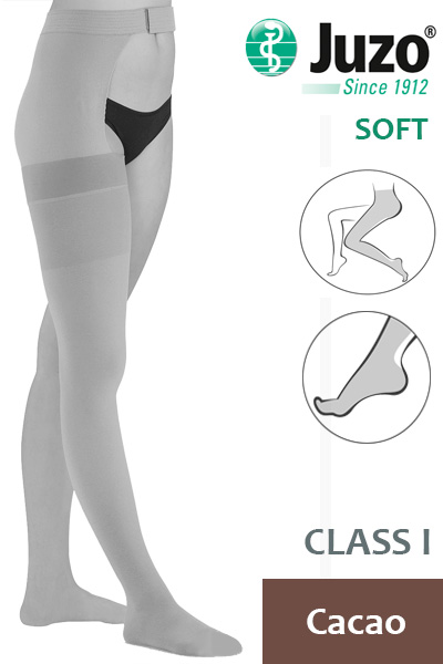 Juzo Compression Stockings with Waist Attachment