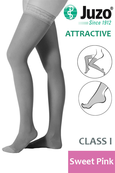 Juzo Thigh High Compression Stockings