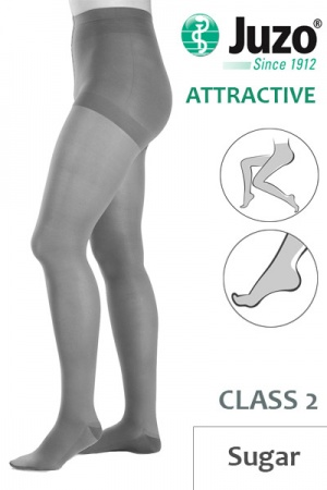 Juzo Attractive Class 2 Sugar Compression Tights