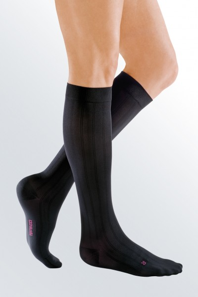 Medi Mediven for Men Class 2 Black Compression Socks