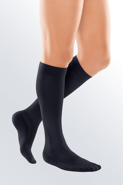 Medi Black Travel Socks for Men