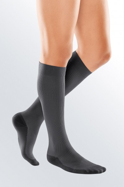 Medi Grey Travel Socks for Men