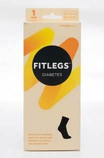 FitLegs Diabetes Cotton Socks