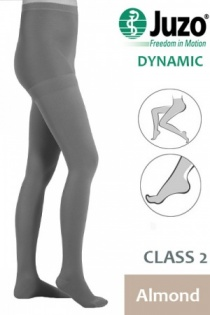 Juzo Dynamic Class 2 Almond Compression Tights