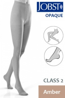 Jobst Opaque Class 2 Amber Compression Tights
