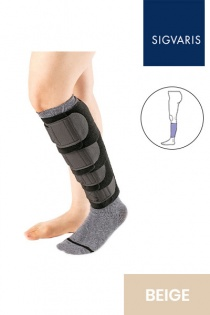 Sigvaris Comprefit Unisex Adjustable Beige Calf Compression Sleeve