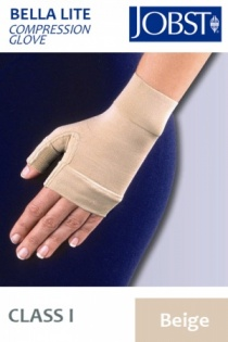 Jobst Bella Lite Class 1 Beige Gauntlet Compression Glove