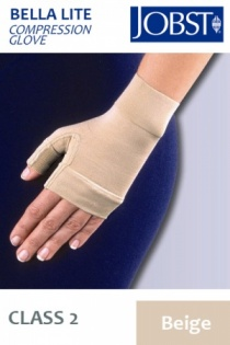Jobst Bella Lite Class 2 Beige Gauntlet Compression Glove