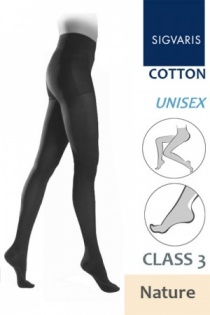Sigvaris Cotton Class 3 Nature Compression Tights