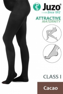 Juzo Attractive Class 1 Cacao Maternity Compression Tights