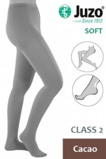 Juzo Soft Class 2 Cacao Compression Tights