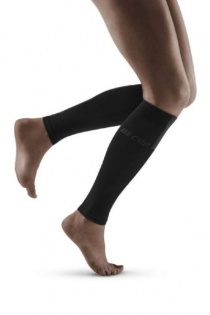 CEP Black/Dark Grey 3.0 Compression Calf Sleeves for Women