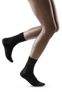 CEP Black/Dark Grey 3.0 Short Compression Socks for Women