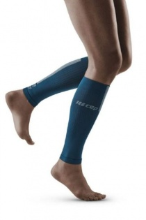 CEP Blue/Grey 3.0 Compression Calf Sleeves for Women