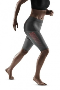 CEP Grey 3.0 Running Compression Shorts for Women