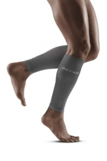 CEP Grey/Light Grey Ultralight Compression Calf Sleeves for Men