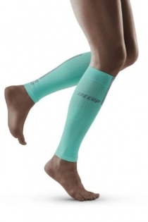 CEP Ice/Grey 3.0 Compression Calf Sleeves for Women