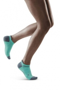 CEP Ice/Grey 3.0 No Show Compression Socks for Women