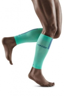 CEP Mint/Grey 3.0 Compression Calf Sleeves for Men
