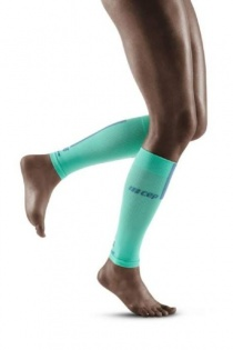 CEP Mint/Grey 3.0 Compression Calf Sleeves for Women