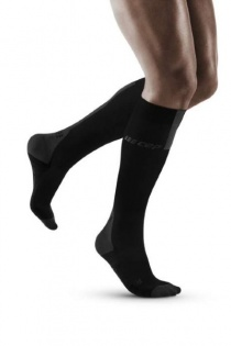 CEP Run Black/Dark Grey Compression Socks 3.0 for Men