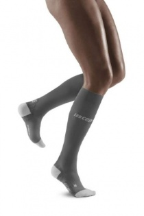 CEP Run Grey/Light Grey Ultralight Compression Socks for Women