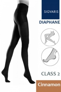 Sigvaris Diaphane Class 2 Cinnamon Compression Tights
