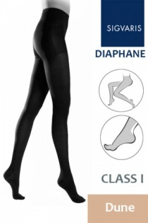 Sigvaris Diaphane Class 1 Dune Compression Tights