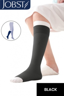 JOBST UlcerCARE Black Compression Stocking with Liner (40mmHg)