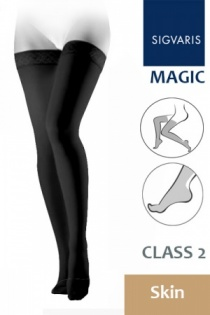 Sigvaris Magic Class 2 Skin Thigh Compression Stockings